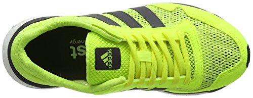De Entrainement Adizero White Femme Yellow W Jaune footwear utility Running Chaussures Adios Adidas solar Black qpYxIHI