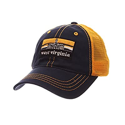 Zephyr West Virginia Mountaineers Landmark Adjustable Hat by Zephyr