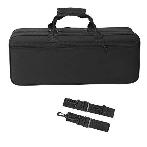 Andoer 600D Water-resistant Gig Bag Box Backpack Oxford Cloth for Trumpet with Adjustable Dual Shoulder Strap Pocket Foam Cotton Padded