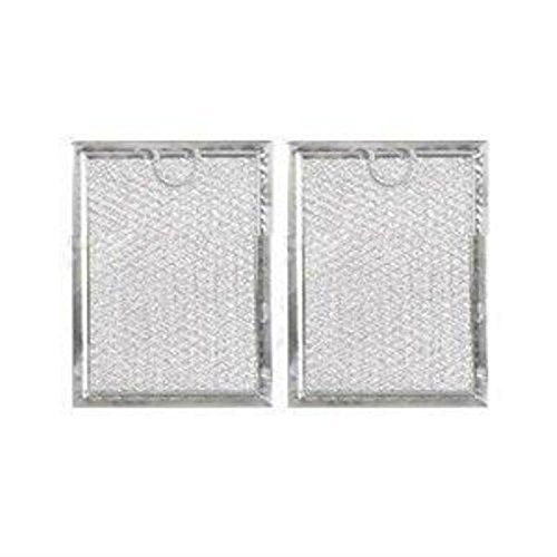 Microwave Grease Filter for GE WB06X10654 - Filters Pack of 2 by Pokin