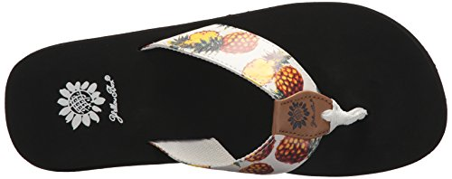 Yellow Box Women's Pina Colada Sandal White lZlrW