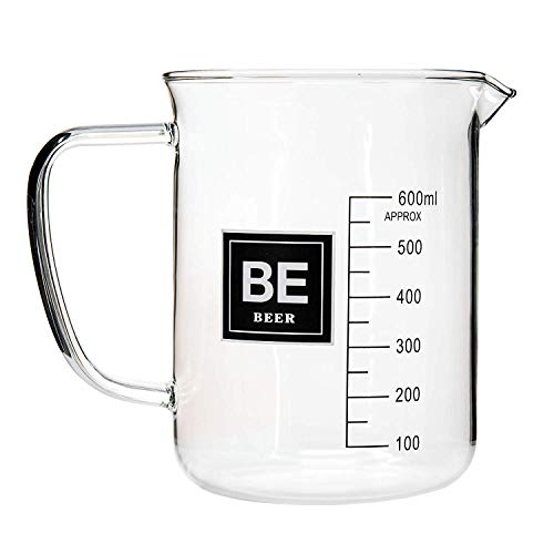 - Drink Periodically 20oz Lab Beaker Beer Glass with Periodic Table BEER Element Square