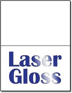 Amazon hallmark half fold glossy premium photo greeting cards half fold greeting cards laser gloss 100 cards m4hsunfo