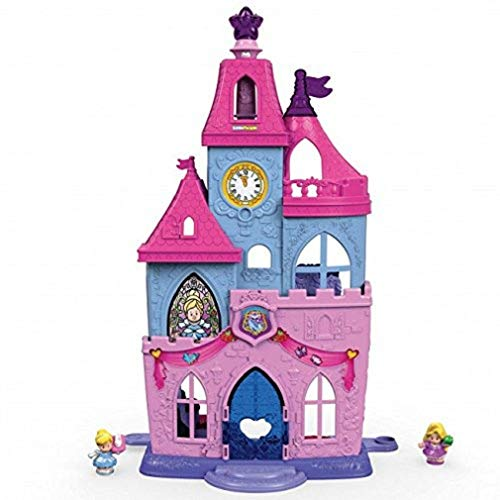 Castle Fisher Price - Fisher-Price Little People Disney Princess, Magical Wand Palace Doll