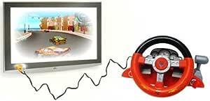 Cars 2 - Volante para TV con videojuegos: Amazon.es: Electrónica