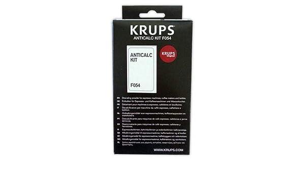 Descalcificador cafeteras KPUPS F05400 | KRUPS En sobres ...