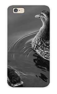 Goldenautumn High Quality Shock Absorbing Case For Iphone 6-two Ducks On Lake