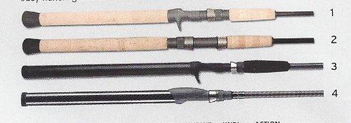 Lamiglas Bass Rods (Lamiglas TFX7650CT Tri-Flex Graphite Inshore Rod)