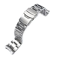 Super 3D Oyster watch bracelet is a new breakthrough of our Super Oyster Collection. Same as Super Oyster, this Super 3D Oyster composed of 3 flat and solid 316L stainless steel units plus highlighted 3D effect curved solid end piece which is...