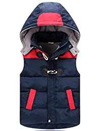 Aiduo Infants Toddlers Boys Girls Winter Fleece Warm Waistcoat Jacket