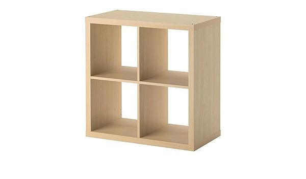 Ikea Kallax. de Madera de Abedul; (77 x 77 cm); Compatible con Expedit