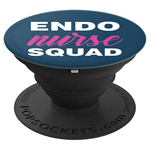 Endoscopy Nurse Registered GI Nurses RN Endo Nurse Squad PopSockets Grip and Stand for Phones and Tablets