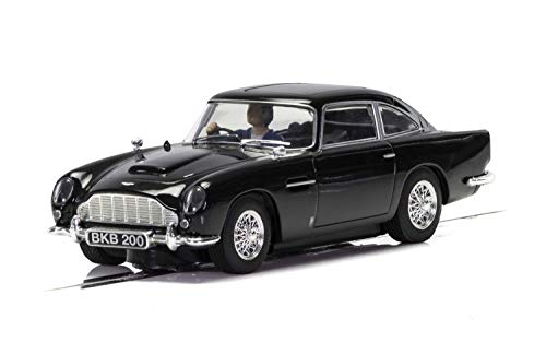 Scalextric Aston Martin DB5 Black 1:32 Slot Race Car C4029