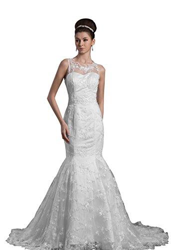 inverted triangle wedding dress - 6