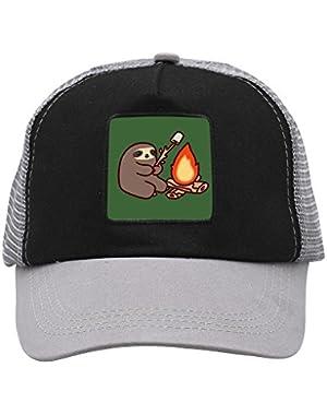 Unisex Sloth BBQ Adjustable Classic Hiphop Hat Baseball Cap Snapback Dad Hat