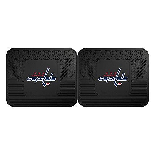 FANMATS NHL Washington Capitals Vinyl 2-Pack Utility Mats