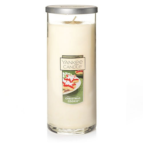 Pillar Candle Sugar Cookie (Yankee Candle Christmas Cookie Large Perfect Pillar Candle, Festive Scent)
