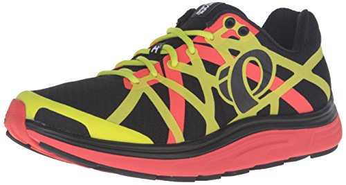 Pearl iZUMi Men EM Road H3 v2 Running Shoe Black/Grenadine