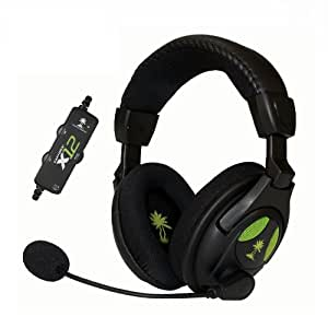 Turtle Beach Ear Force X12 - Auriculares (Alámbrico, 2x 3.5 mm, 4.87 m, circumaural, 20 - 20000 Hz, 120 Db)