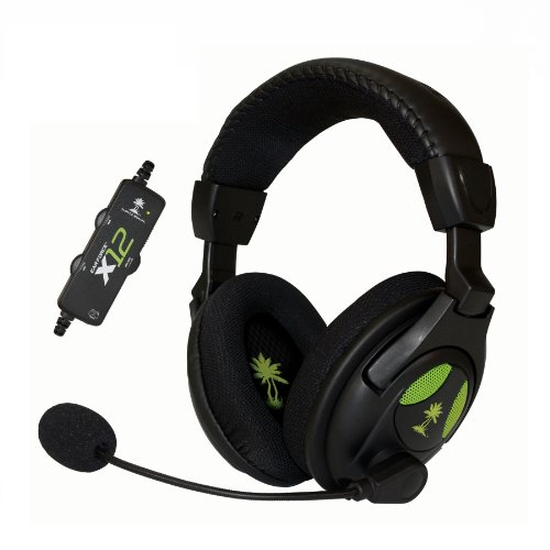 Turtle Beach - Ear Force X12 Amplified Stereo Gaming Headset - Xbox 360 (Discontinued by - 360 Xbox Headsets Wireless