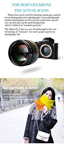 7artisans 50mm F1 1 Leica M Mount Fixed Lens for Leica M
