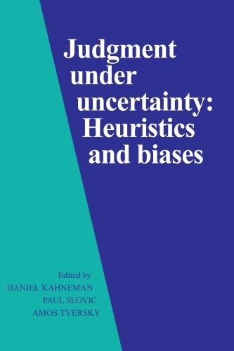 Judgment Under Uncertainty: Heuristics and Biases (Best Things About Living In Australia)