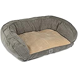 Precision Pet Daydreamer Gusset Couch, 32 by 25 by 10.5-Inch, Gray