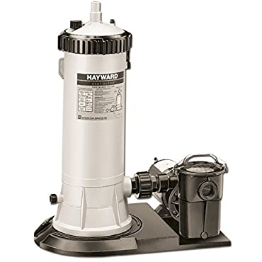 Hayward C5501575XES Easy-Clear Filter System with 1-Horsepower Power Flo LX Pump
