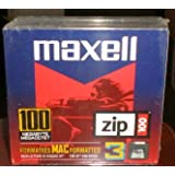 NEW SEALED Mac Formatted Zip Disks 3 PACK - 100MB - Item 580130