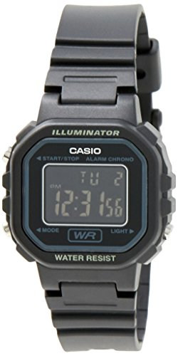 Casio LA20WH 1B Womens Chronograph Digital
