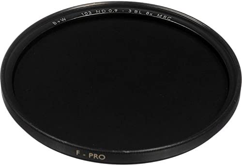 B 8X Neutral Density Glass Filter with Multi Coating W Series 8 #103 0.9