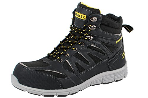 Stanley Pulse 00410 Pulse High S3 Safety Boot 41 Black outlet amazing price sale hot sale for sale sale get to buy rgIXXtWt