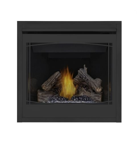 Napoleon B36 Ascent MV Fireplace w/Porcelain Panels & Zen Front - - Napoleon Porcelain Fireplace