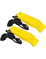Ultimate Survival Technologies Hear-Me Whistle 2-Pk, Yellow