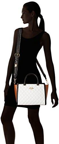 Love Moschino Multicolore White tan Femme Shopper black JC4214PP05KA ZZHxrT