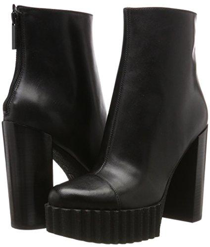 Schwarz Stiefel Kkcadence Black and Multi leather Kylie Damen Matte Kendall Regal pxqBXwIZp