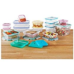 Snapware Total Solution Plastic Food Storage Set 34 Piece
