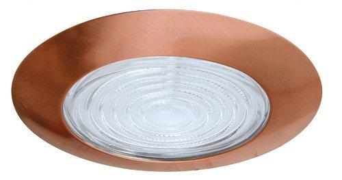Elco Lighting EL12CP S 6'' Shower Trim with Albalite Lens - EL12