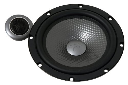 Fli Underground FU6C-F1 6.5-Inch 210 Watt Peak Component Speaker System with Crossover with 70 Watt RMS Speaker (Discontinued by Manufacturer)
