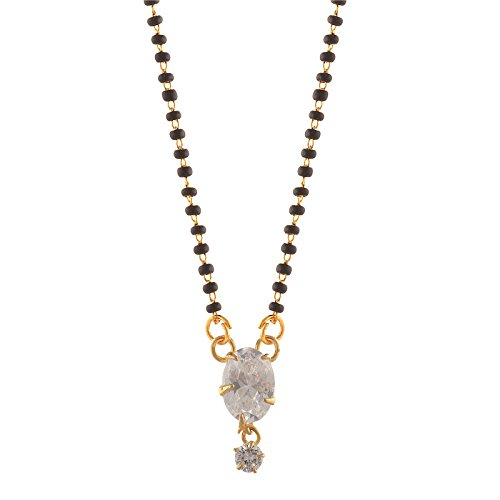 Color Lane Mangalsutra With Zircons For Women