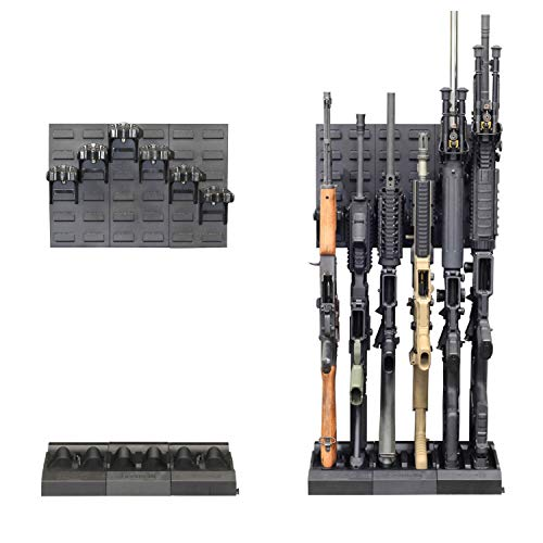 Secure It Gun Storage Gun Safe Kit - Retrofit 6 - Black