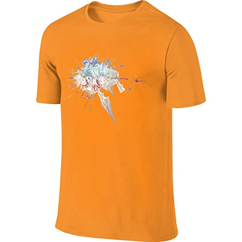 (JossCat Mens Game Final Fantasy XIV Fashion Short Sleeve Shirt)