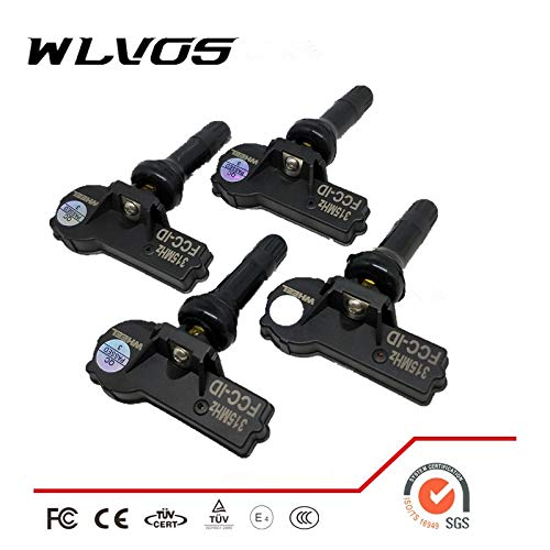 Wlvos 4X Pre-Programmed OEM 315MHz TPMS TIRE Pressure Monitoring Sensor 15114379