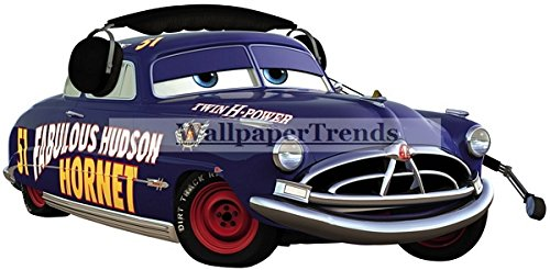 13 Inch Doc Hudson 51 Fabulous Hudson Hornet Disney Pixar Cars 2 Movie Removable Wall Decal Sticker Art Home Racing Decor