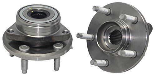 - Detroit Axle - New (Both) Front Wheel Hub And Bearing Assembly For - 1996-07 Ford Taurus - [1995-02 Lincoln Continental] - 1996-05 Mercury Sable