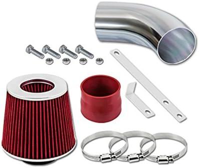 1.3 L4 ST Racing Red Short Ram Air Intake Kit Filter 91-97 Geo Metro 1.0 L3