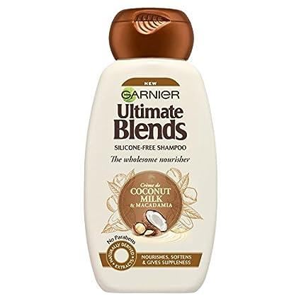 Mascarilla de pelo Garnier Original Remedies de leche de coco, para cabello seco, 250