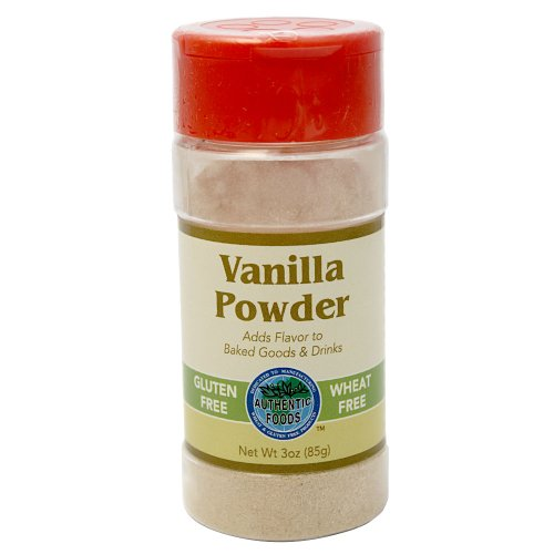 Authentic Foods Vanilla Powder - 3oz