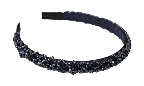 Great Gatsby / Roaring 20s Flapper Inspired Handmade Beaded Headband / Hairband
