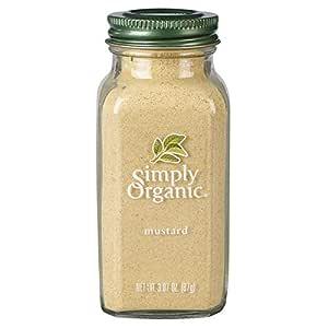 Simply Organic Ground Mustard Seed, Certified Organic | 3.07 oz | Sinapis alba L.